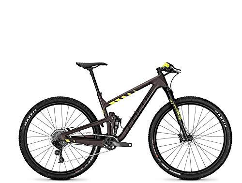 Focus MTB O1E Factory 12G - Bicicleta de montaña (29 Pulgadas), Color marrón y Amarillo Mate, Color Brown/yellowmatt, tamaño 48, tamaño de Rueda 29.00