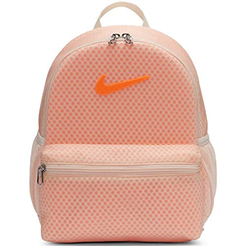 Nike Kids Brasilia Just Do It Mini Backpack (Little Kids/Big Kids) Guava Ice/Total Orange/Total Orange One Size