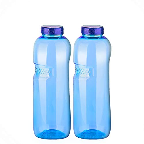 Trinkflasche 2x 1,0 Liter für gefiltertes Wasser