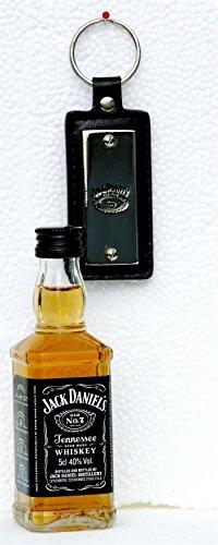 Preisvergleich Produktbild Jack Daniels 0, 05 L Mini + Schlüsselanhänger rechteck,  SET im Beutel