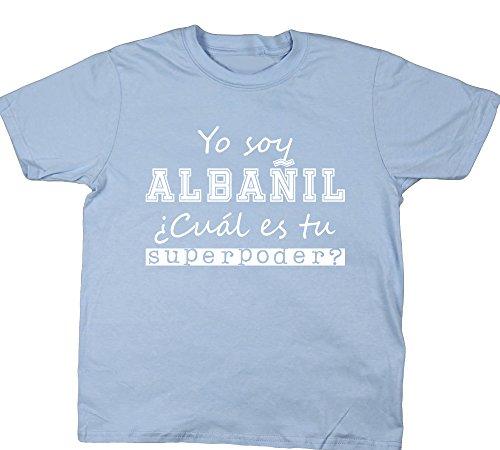 HippoWarehouse Yo Soy Albañil, ¿Cuál es tu Superpoder? camiseta manga corta niños niñas unisex