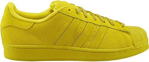 Adidas, Superstar J, Sportschuhe für Jungen, Gelb - Senf - Größe: 38 EU