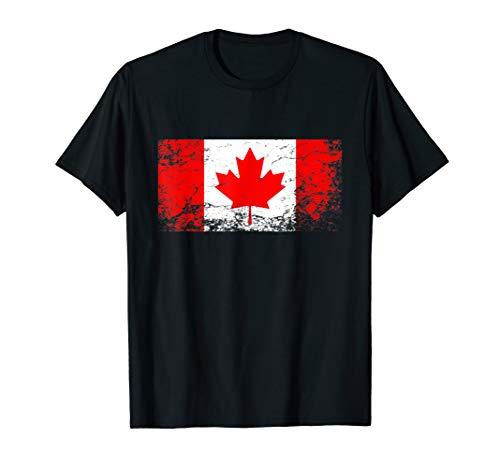 Kanada Flagge tshirt für Männer Frauen und Kinder T-Shirt