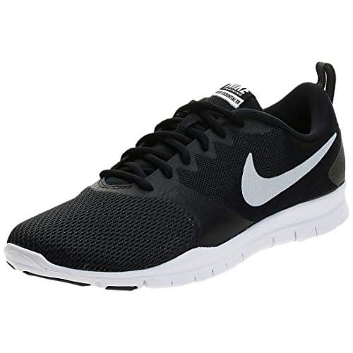 Nike Wmns Nike Flex Essential Tr, Scarpe Sportive Indoor Donna, Nero (Nero/Nero/Anthracite/Bianco 001), 36 EU