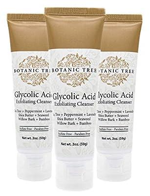 Botanic Tree Glycolic Acid Face Wash Travel Pack