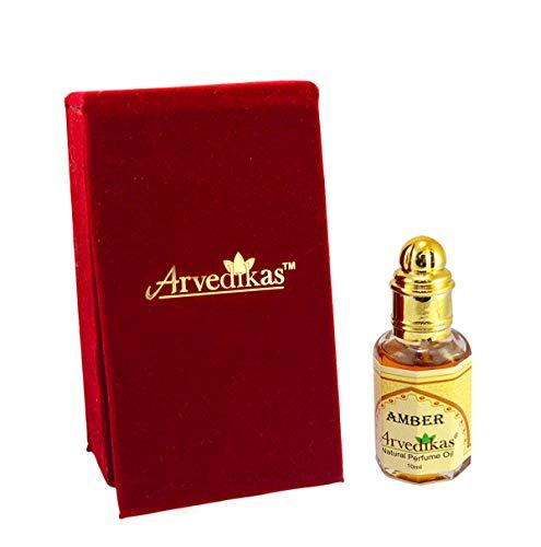 Chakra Natürliches Parfümöl, Amber, 100 % reines und natürliches Öl,10ml
