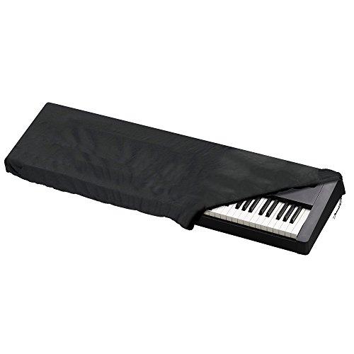 Funda Piano 88 Teclas,JTDEAL Funda Piano,Protector Piano,Impermeable y Prevenir el polvo,134 x 29 x 18CM,Cubierta para Teclado,Aplicar a Muchas Marcas Piano De 88 o 66: Casio,Yamaha,Roland Etc - Negro
