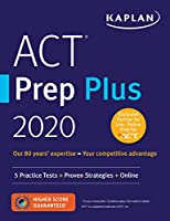ACT Prep Plus 2020: 5 Practice Tests + Proven Strategies + Online (Kaplan Test Prep)
