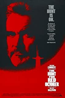 Hunt For Red October Movie Poster 11x17 Master Print