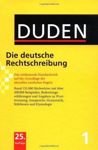 Duden 01. Die deutsche Rechtschreibung + MS office 6.0 Korrektor kompakt