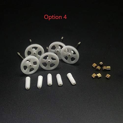 Ellenbogenorthese-LQ Drone Gearset Gear Motor Base Cover Motor Gear Repuestos de Repuesto Accesorios para Syma X5 X5C Drone Repuestos ( Color : Option 4 )