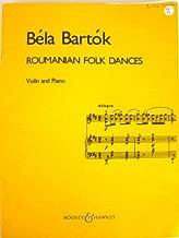 Bartók - Roumanian Folk Dances [Violin and Piano]