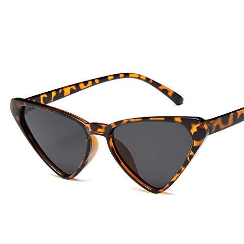 Gafas de Sol Sunglasses Nuevas Gafas De Sol con Forma De Ojo De Gato para Mujer, Gafas Bonitas De Verano, Vintage, Rojo Y Rosa, Gafas De Ojo De Gato Retro Uv400 C3
