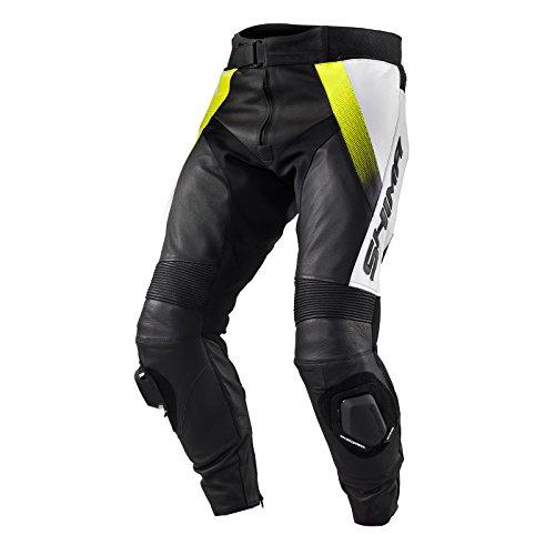 SHIMA STR TROUSERS - Pantalón deportivo de piel para hombre con protectores