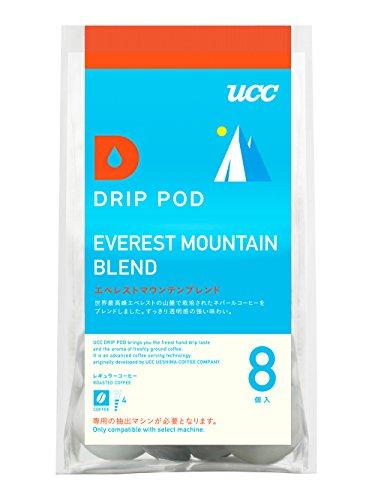 UCC ドリップポッド エベレストマウンテンブレンド コーヒー 8個