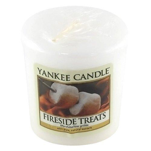 Yankee Candle Samplers Votivkerzen, Wax, Fireside Treats, 4.5999999999999996 x 4.8 x 1 cm