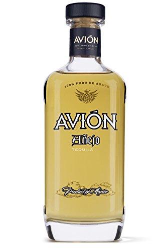 Avión Añejo Tequila / Feinste aromatische Spirituose aus 100% blauer Weberagave / Mexikanischer Schnaps 2 Jahre im Eichenfass gereift / 1 x 0,7 L