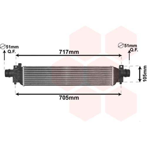 Van Wezel 37004650 Turbocooler