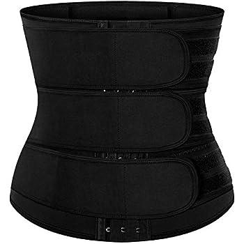 BFYTN Neoprene Sweat Waist Trainer Corset for Women Compression Trimmer Belts Waist Cincher
