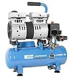Güde Silent 105/8/6 - Compressore Airpower, 550 W, 230 V, colore: Blu