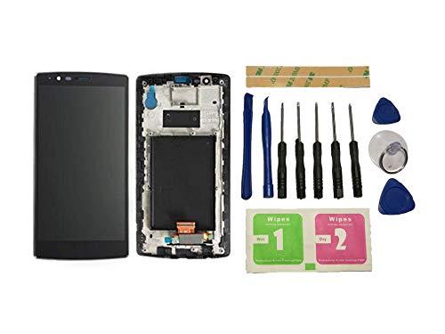 Flügel para LG G4 H810 H811 H815 Pantalla LCD Pantalla Negro Táctil digitalizador Completo Pantalla (con Marco) de Recambio & Herramientas