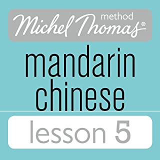 Michel Thomas Beginner Mandarin Chinese Lesson 5 cover art