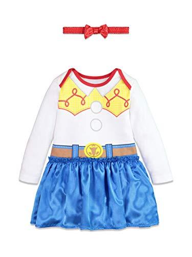 Disney Pixar Toy Story Jessie Toddler Girls Costume Dress & Headband Set 3T