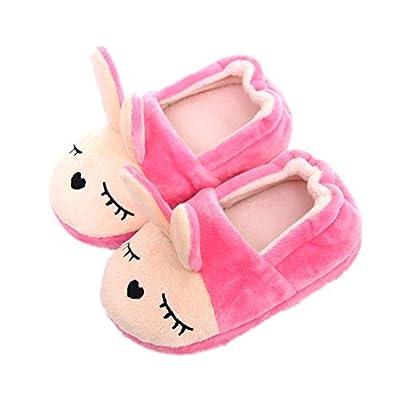 KVbaby Zapatillas de Estar por Casa Unisex Niños Lindo Suave Pantuflas Invierno 20/22 EU (Fabricante: 13-14 / XS)