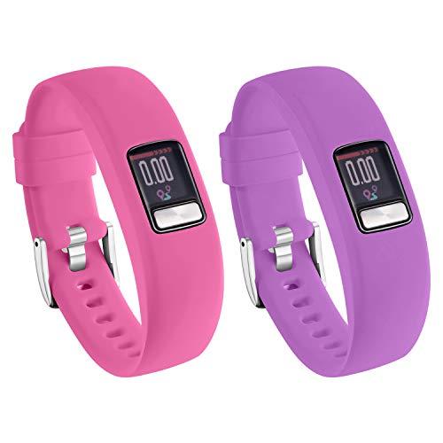 orologio fitness vívofit 4 Ansblue Silicone Regolabile Sostituzione Cinturino per Garmin vivofit