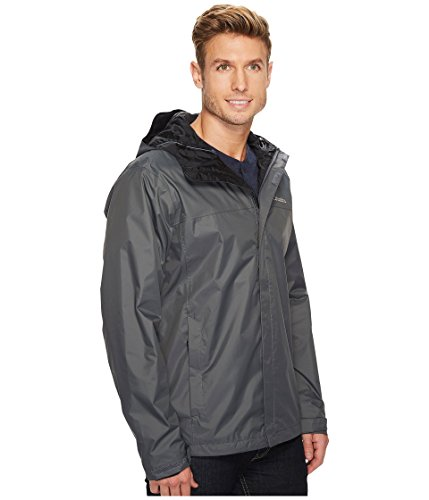 Columbia Men's Watertight II Waterproof, Breathable Rain Jacket, Graphite, XX-Large
