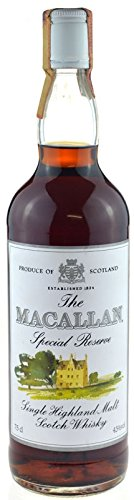 Rareza: The Macallan Whisky Special Reserve 0.7l - Single Highland Malt Scotch Whisky