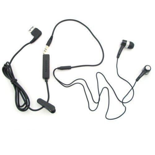 Samsung Headset AAEP433 & Mic. Cable AARM021 Kompatiblität: Samsung SGH-B300, C180, D880, E210, F110, F200, F210, F330, F480, F490, F700, G600, G800, G810, i200, i550, i560, i640, i780, i900, J700, L170, L760, M110, M310, U800, U900, Giorgio Armani-Samsung Phone