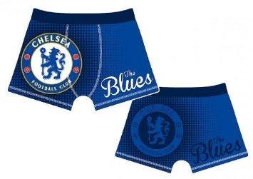 Officiële CHELSEA FC blauwe boxershorts leeftijd 5/6 jaar