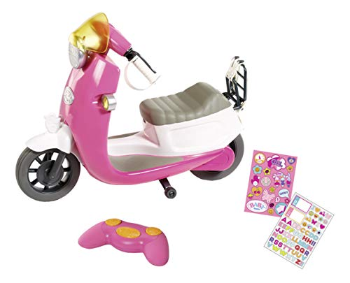 Baby Born-City RC Scooter, Multicolor, (Bandai ZC824771)