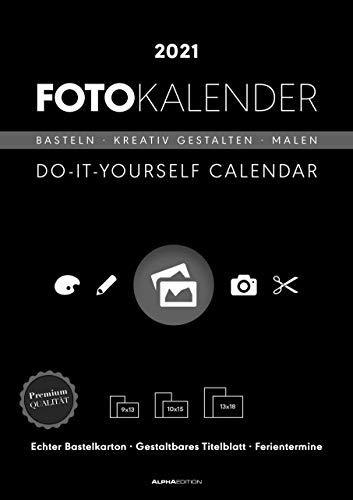 Alpha Edition - Calendario 2021 da muro Fai Da Te, Creativo, Da personalizzare con le tue...