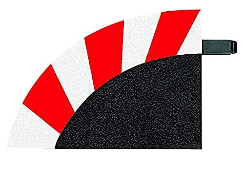 Carrrera - 20563 - Accessoires pour circuit - Carrera Digital 124/Carrera Digital 132/Carrera Evolution - 6 accotements ext. 3/30° + 2 peces de terminaison - echelle 1:24