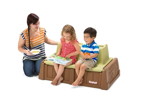 Simplay3 Sand and Water Bench Toy Box