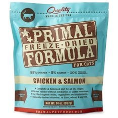 Primal Freeze Nugget Chicken/Salmon Dry Cat Food