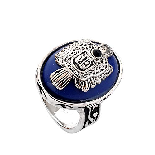 lureme Vampire Diaries Daylight Walking Signet Damon's Ring for Fans-U (04001478-4) Size 10