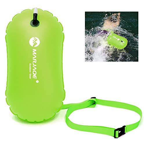 Loijon Saco de natação inflável Waterproof PVC Swimming Snorkeling Life Boia Float Bag