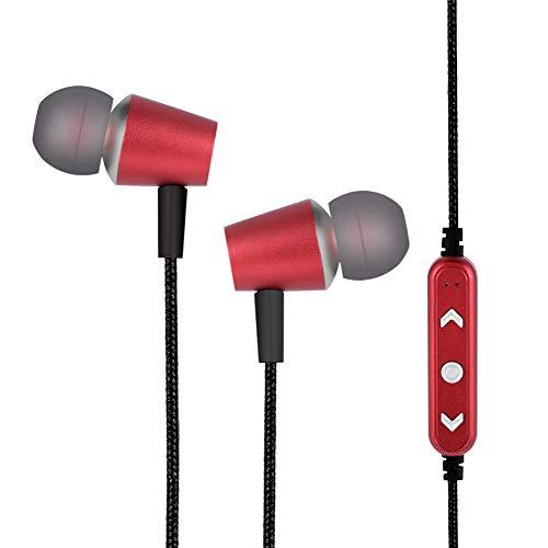 WEILafudong Écouteurs sans fil Bluetooth, écouteurs intra-auriculaires magnétiques, stéréo, pour le sport et le...