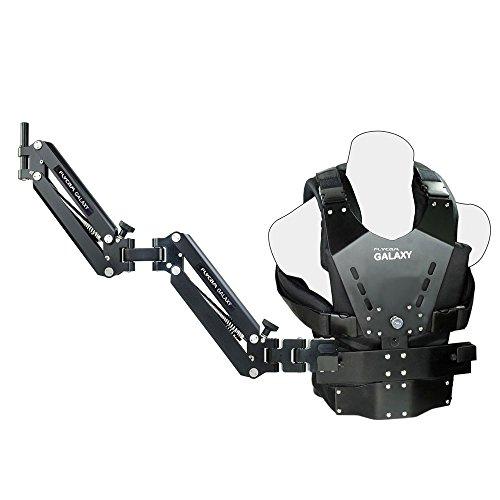 Flycam Galaxy Dual Arm und Weste Body Mounted Steadycam für Handheld Stabilisator für Videokamera Camcorder bis zu 10 kg (GLXY-AV)