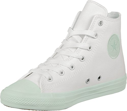 adidas Chuck Taylor All Star II High, Zapatillas de Baloncesto Unisex niños, Blanco, Blanco, Turquesa, Blanco y Turquesa, 31.5 EU