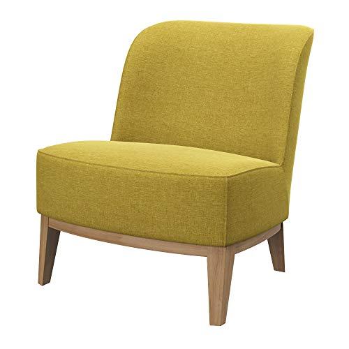Soferia Bezug fur IKEA Stockholm Sessel, Stoff Classic Dark Yellow
