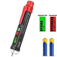 Detector de Voltaje CA sin Contacto, Ventdest 12V-1000V Detector De Tension, ...
