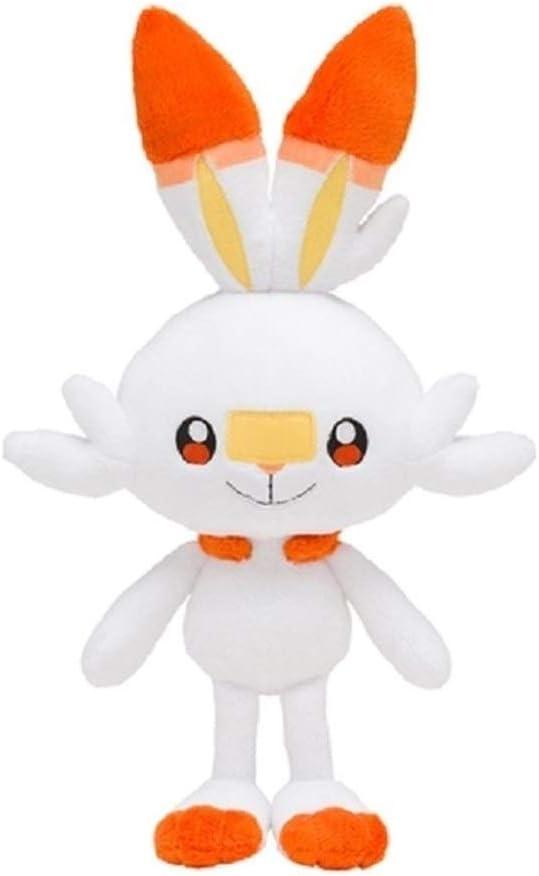 Shanol Felpa muñeca de Juguete de Felpa muñeca de Juguete 37 Cm Conejo Conejito de Felpa Linda Escudo Espada Animado Juego Elf Navidad de los niños de la muñeca de Juguete de Regalo (Height : 37cm)