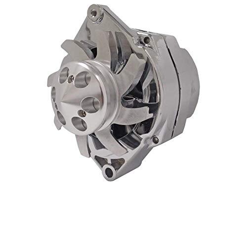 chrome alternator for car - 7