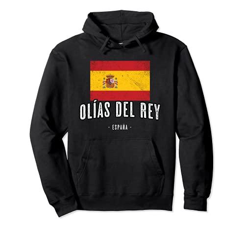 Olías del Rey España | Souvenir - Ciudad - Bandera - Sudadera con Capucha