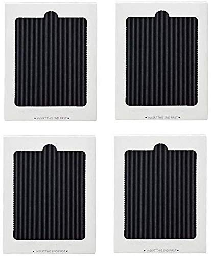 Filtro de aire activado con carbón (4 unidades), repuesto para refrigerador Frigidaire PAULTRA, SCPUREAIR2PK, Electrolux EAFCBF 242047801, 242047804