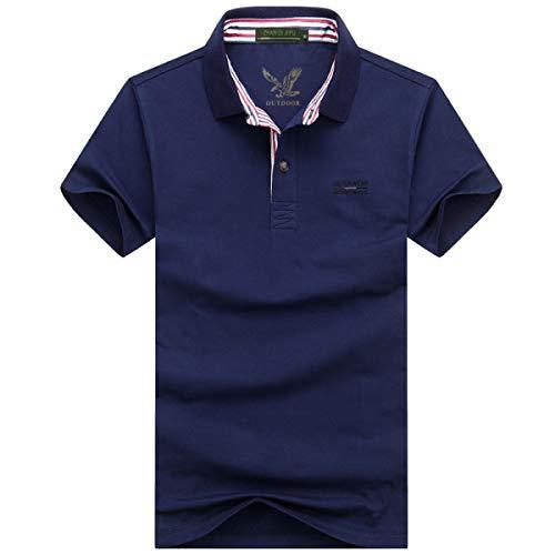 Willlly Polo Shirts Mannen Polo Casual Korte Shirt Chic Sleeve T Shirt Oversized Zomer Katoen Lapel Effen Comfortabele Polo Shirt